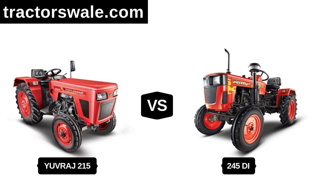 Mahindra Yuvraj 215 NXT Vs 245 DI Orchad Mini Tractor 2020