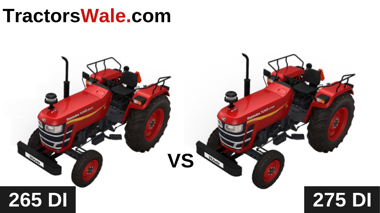 Mahindra Yuvo 265 DI vs Yuvo 275 DI Tractor Comparison 2020