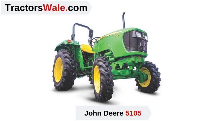 5105 John Deere Tractor Price Mileage specifications – John Deere