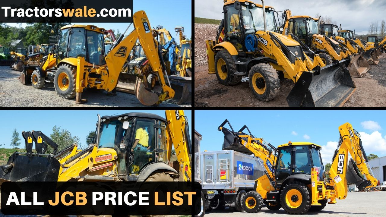 All New JCB Price list in india 2020 | JCB Machine
