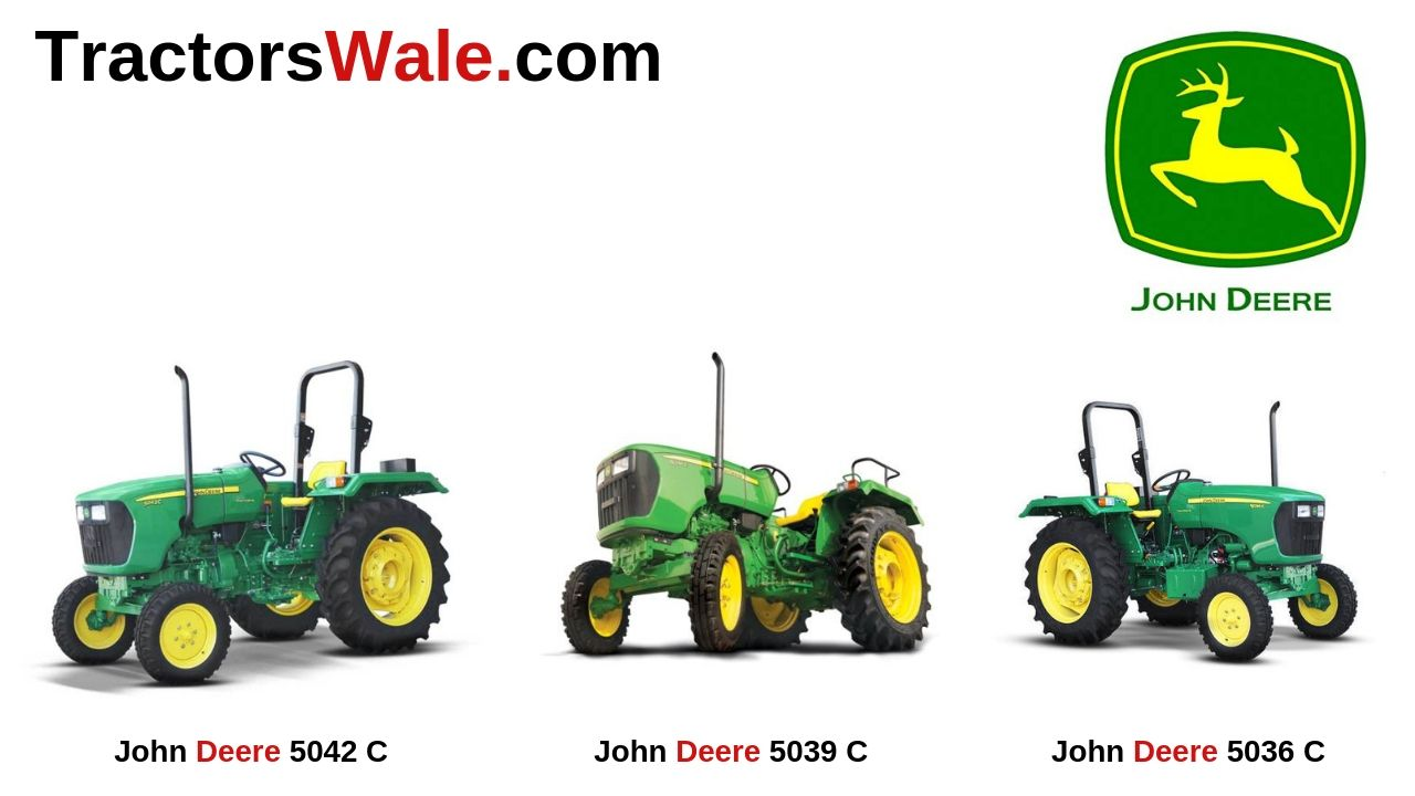 All John Deere Tractor 5C Series Price Specifications Mileage[2021]