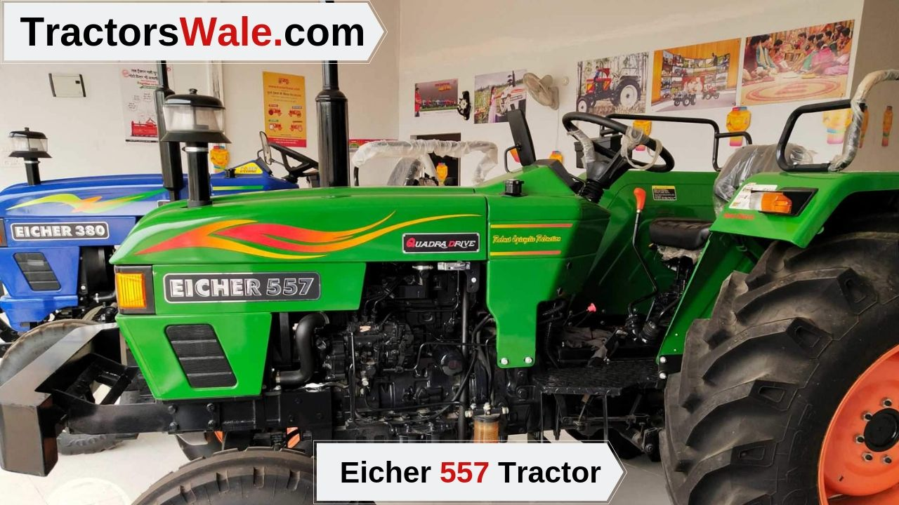 Eicher 557 Tractor Price (2019) Full Feature, Specification, Review India