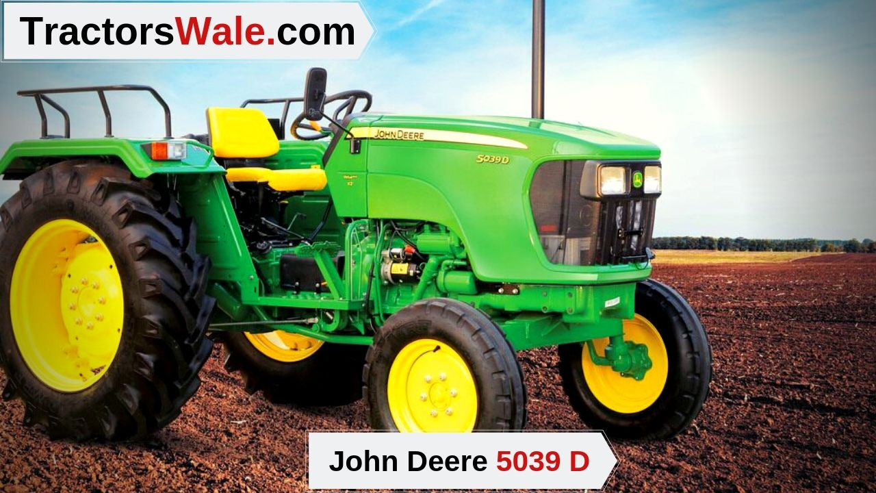 John Deere 5039 D Price