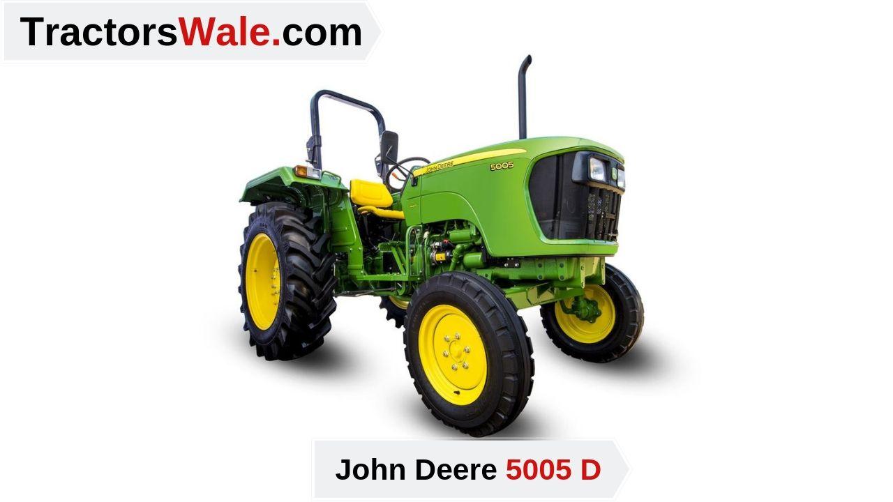 John Deere Tractor 5005 D Price Mileage specifications - John Deere