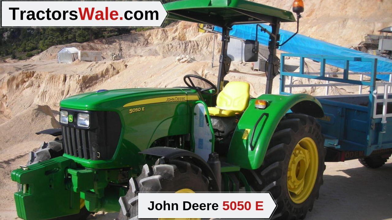 John Deere 5050 E Price
