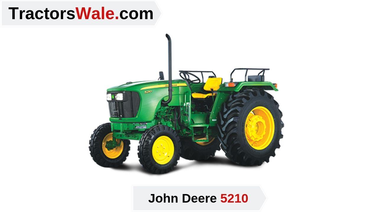 John Deere 5210 Price
