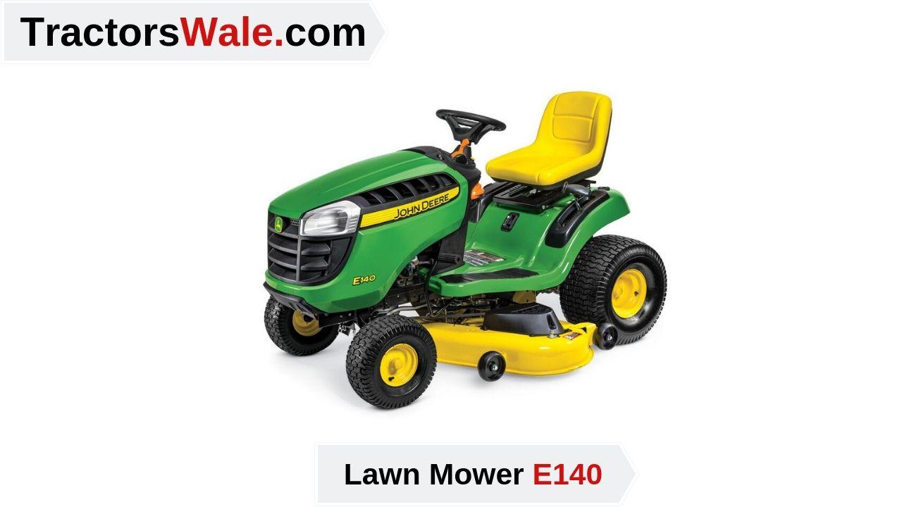 John Deere E140 Lawn Mower Tractor Price & Key Specs