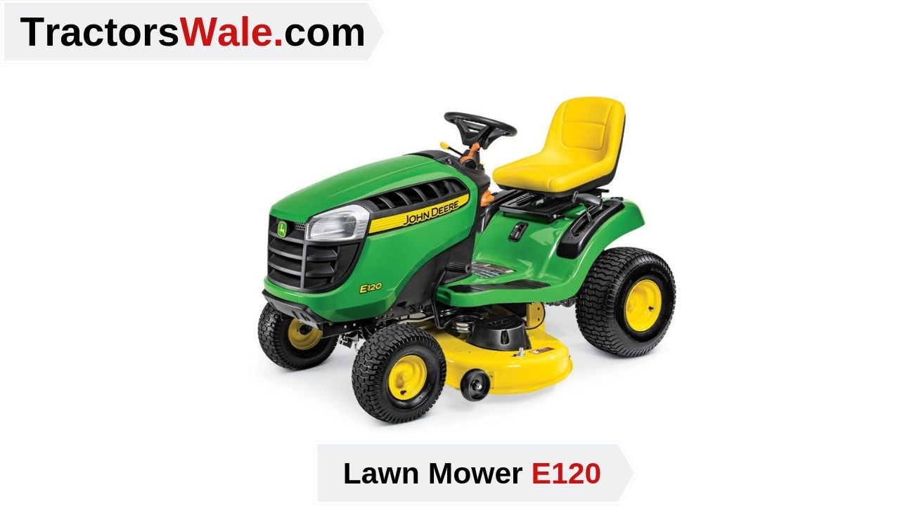 Lawn Mower Tractor E120 Price