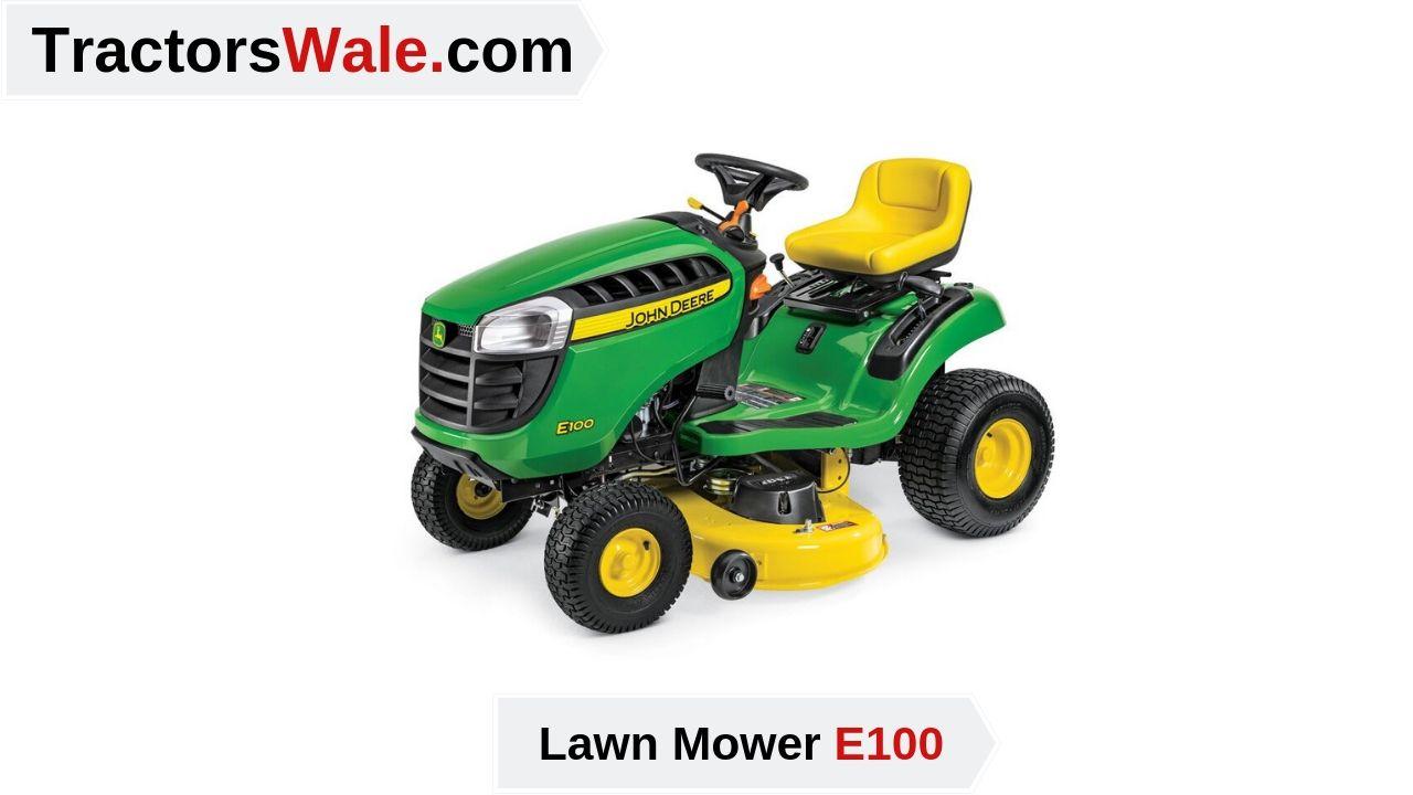 John Deere E100 Tractor Price