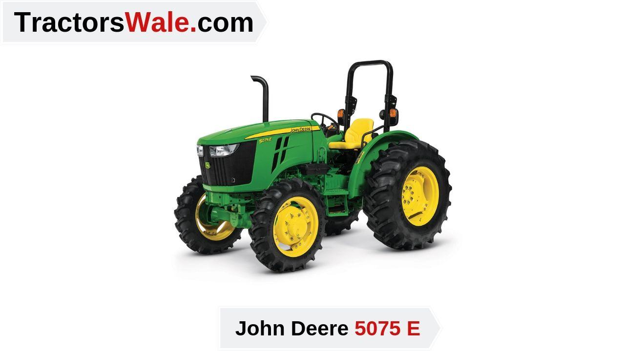 Latest John Deere 5075E Price Specs & Review 2020