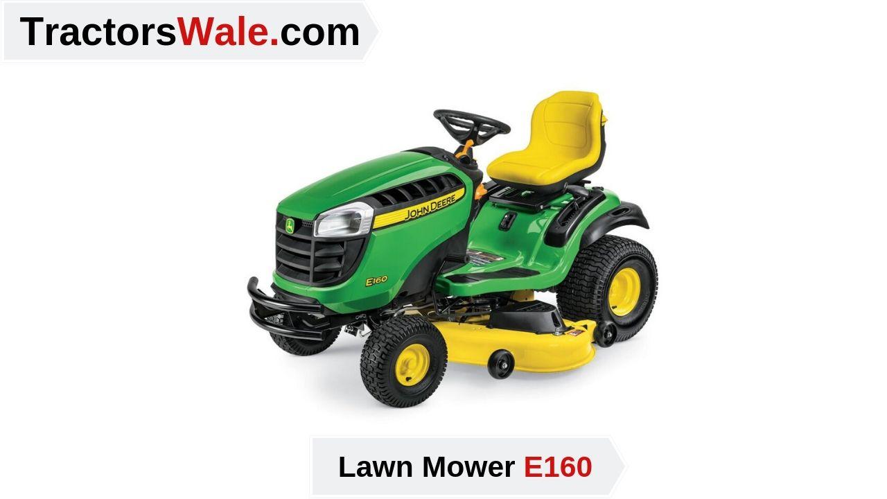 Latest John Deere e160 Lawn Mower Price Specs & Review 2021