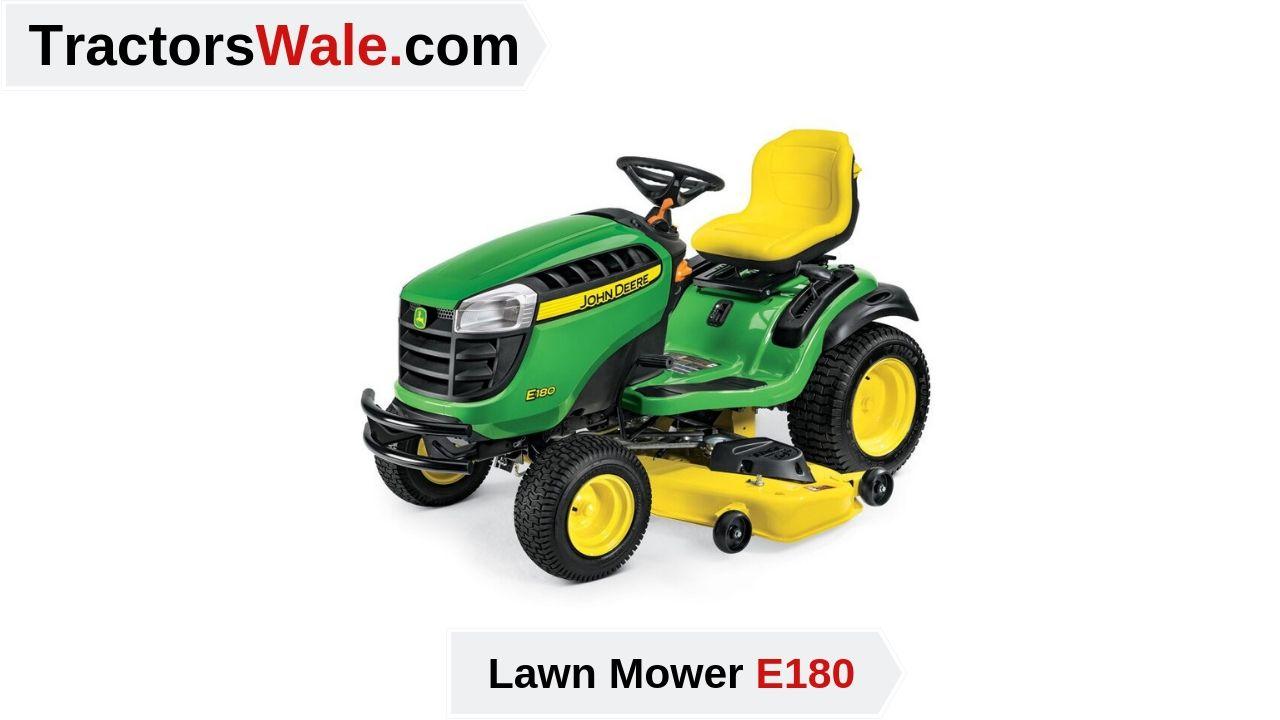 john deere e180 Lawn Mower Tractor Price list & Specification