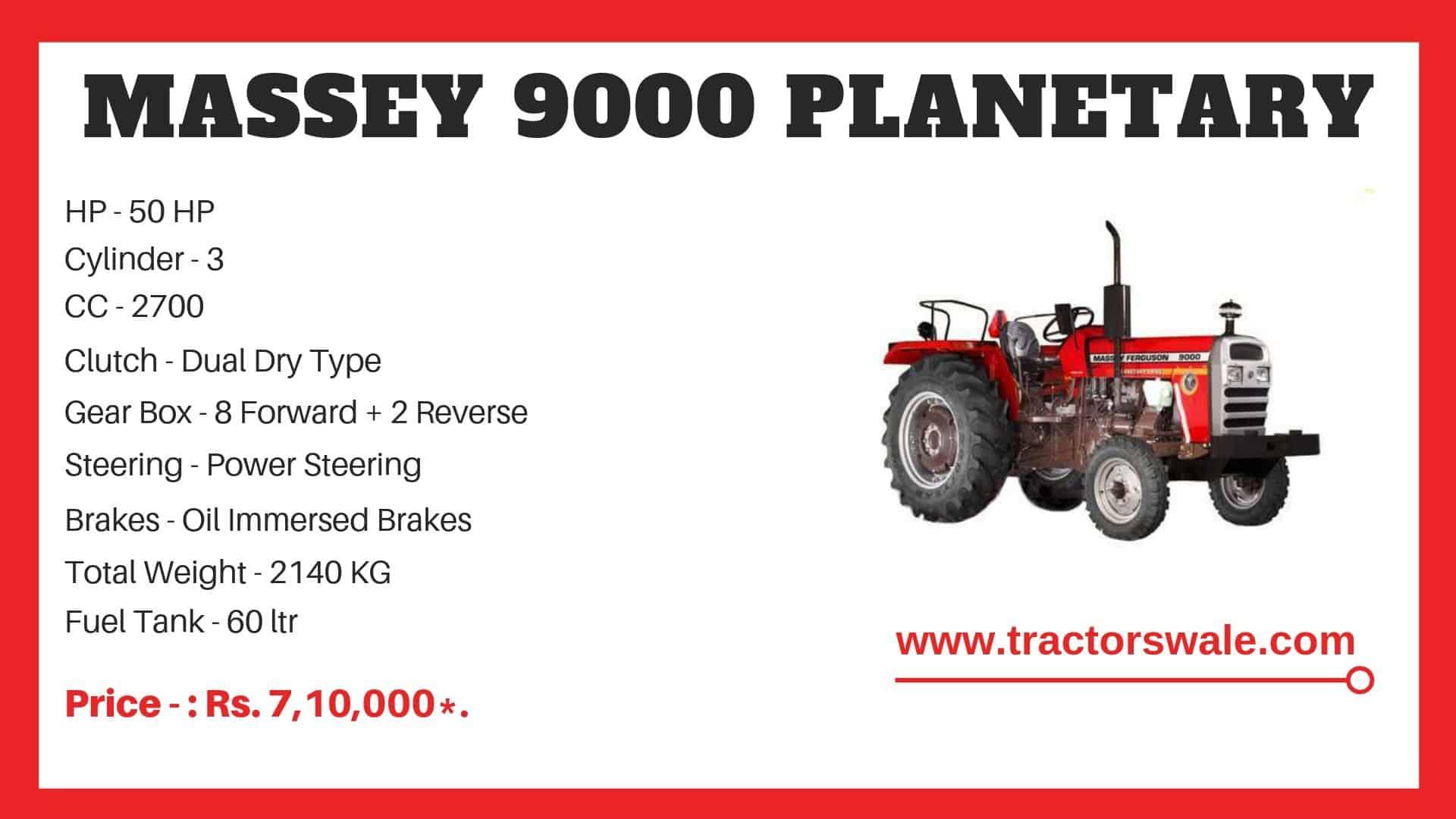 Massey Ferguson 9000 Specifications