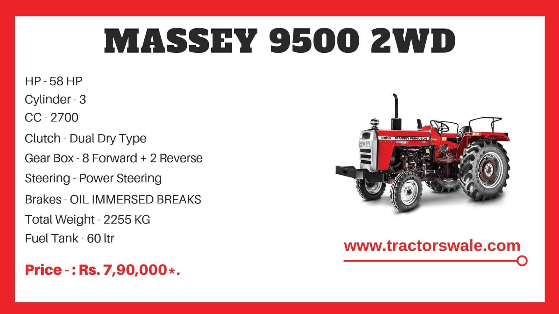 massey ferguson 9500 tractor price