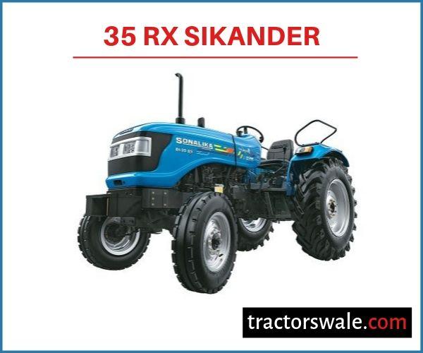 Sonalika 35 RX Sikander