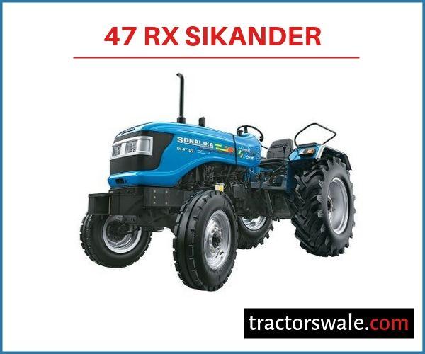 Sonalika 47 RX Sikander