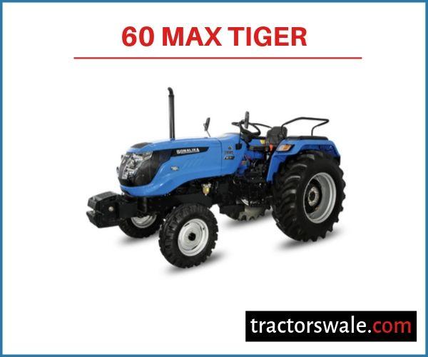 Sonalika 60 Max Tiger