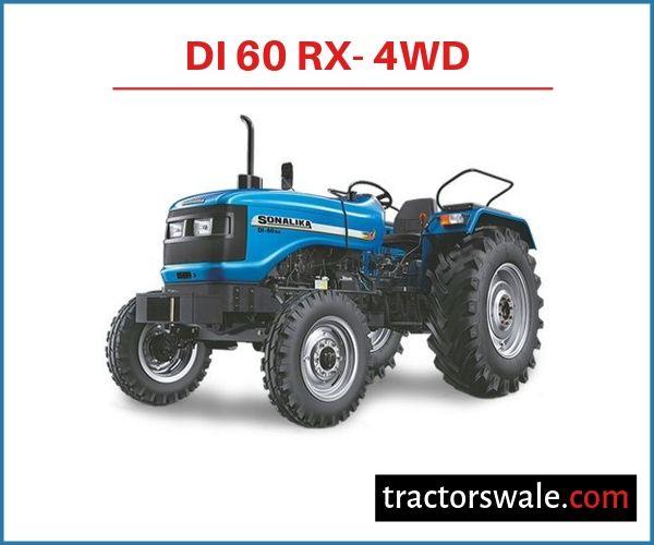 Sonalika DI 60 RX- 4WD