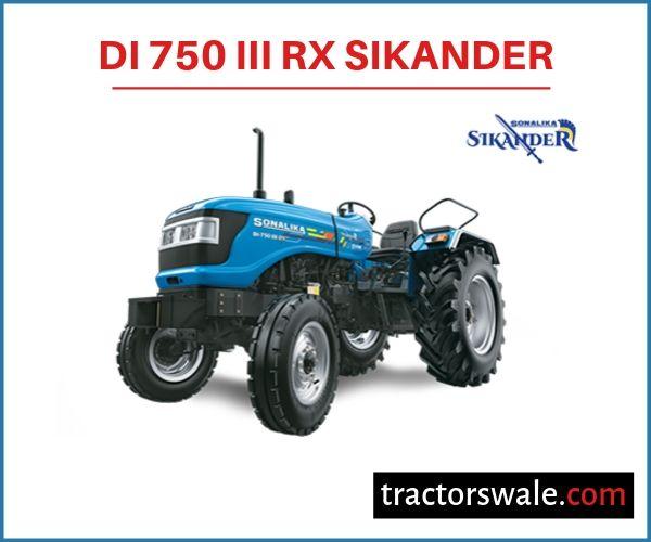 Sonalika DI 750 III RX SIKANDER