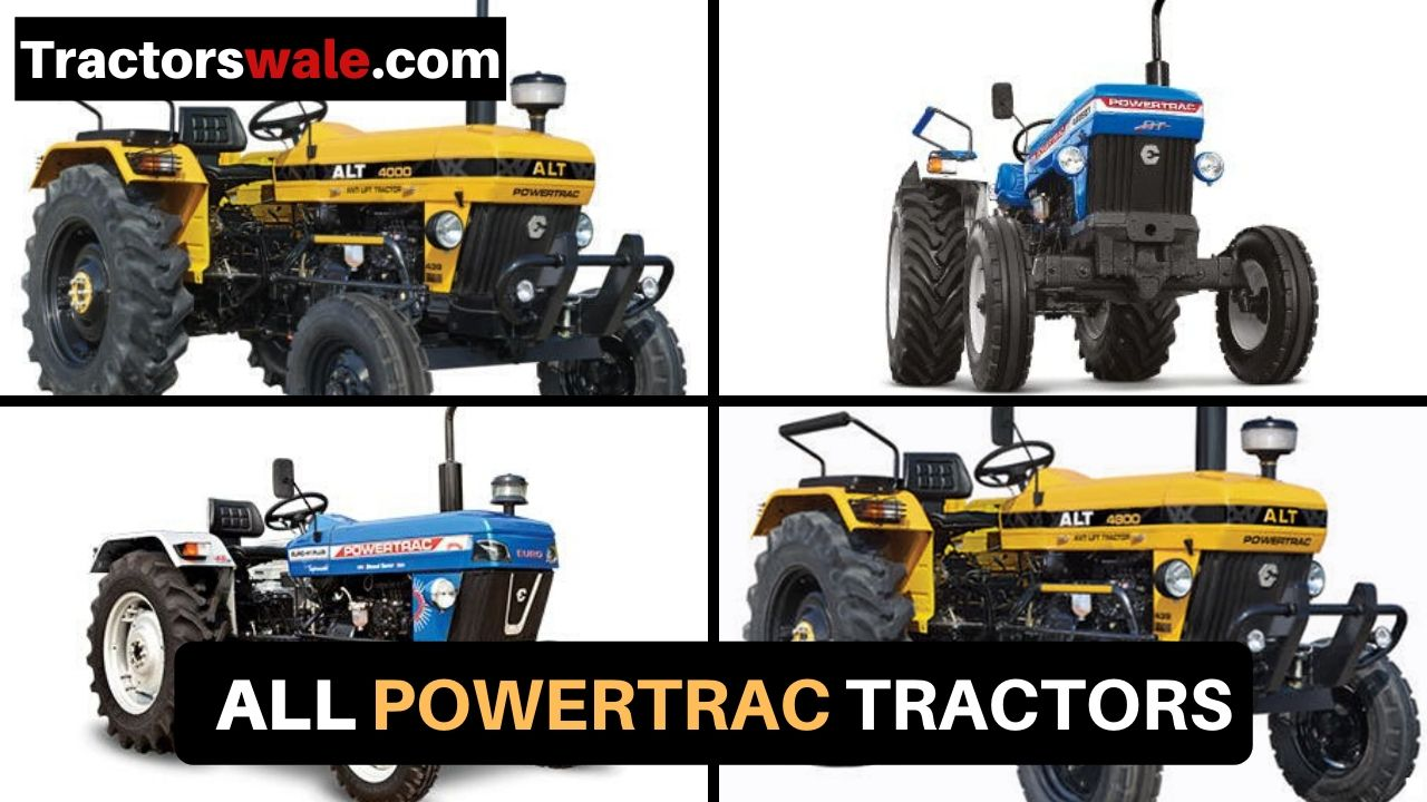 PowerTrac Tractor   All Models Latest Price List 2019 in India