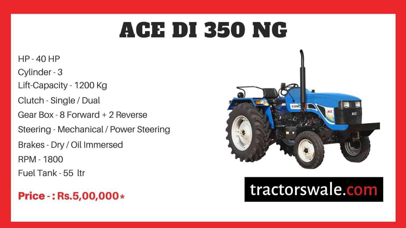ACE DI 350 NG Tractor