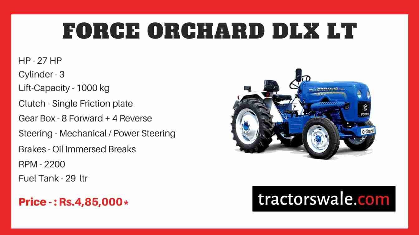 Force Orchard DLX LT Tractor