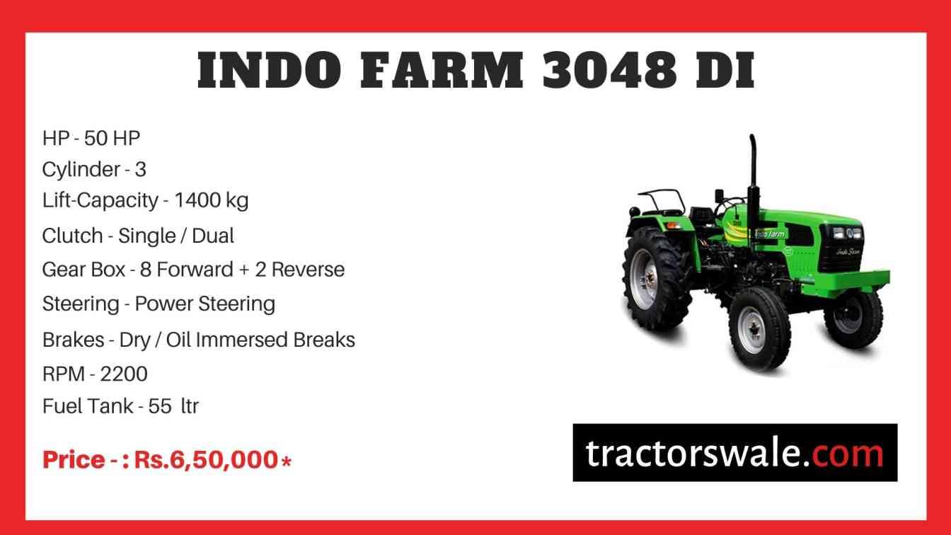 Indo Farm 3048 DI Tractor