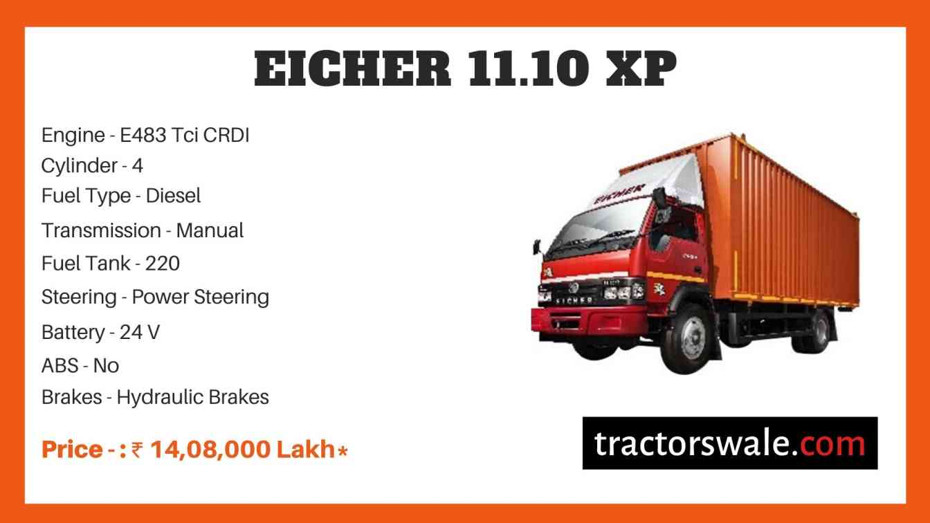 Eicher 11.10 XP Price