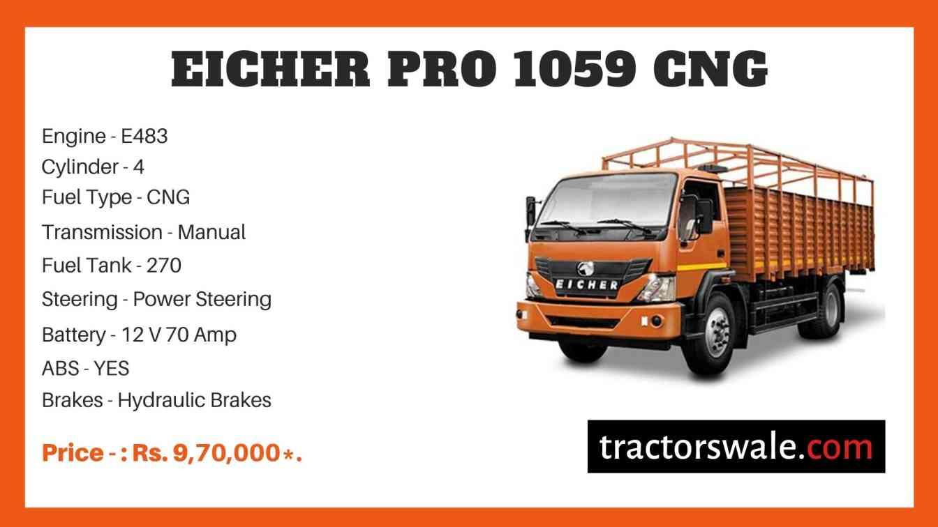 Eicher Pro 1059 CNG Truck