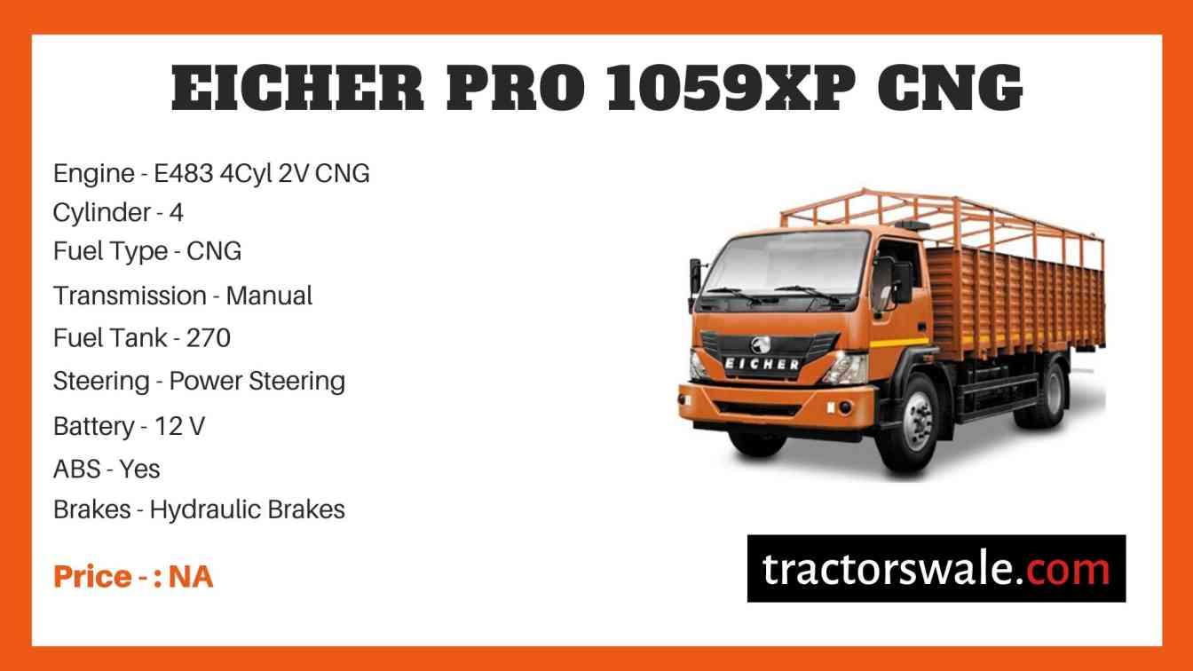 Eicher Pro 1059XP CNG Price