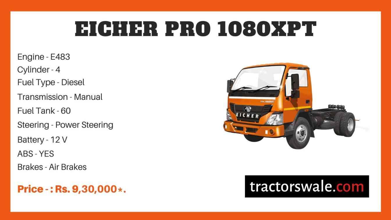Eicher Pro 1080XPT Price
