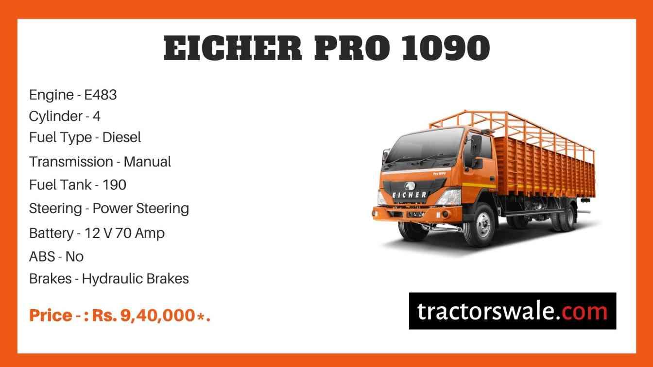 Eicher Pro 1090 Price