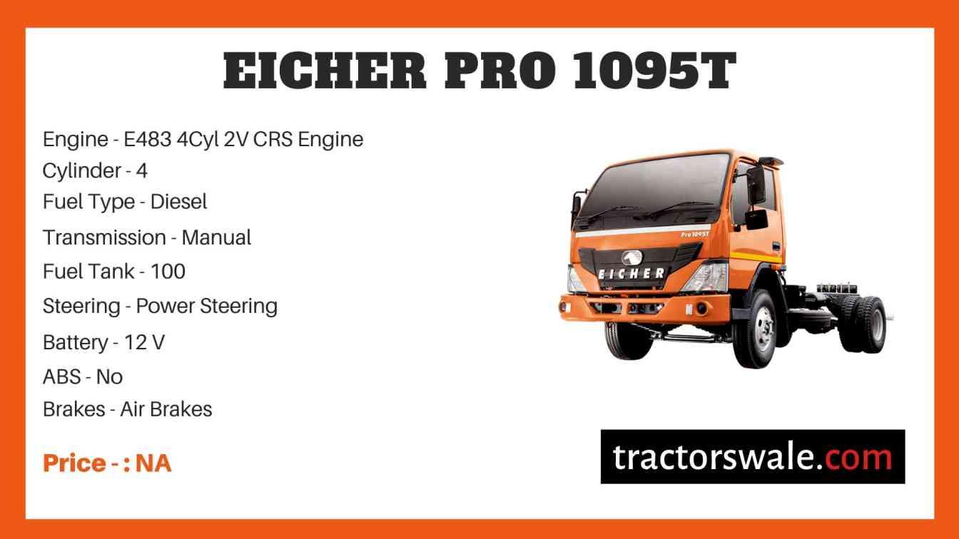 Eicher Pro 1095T Price