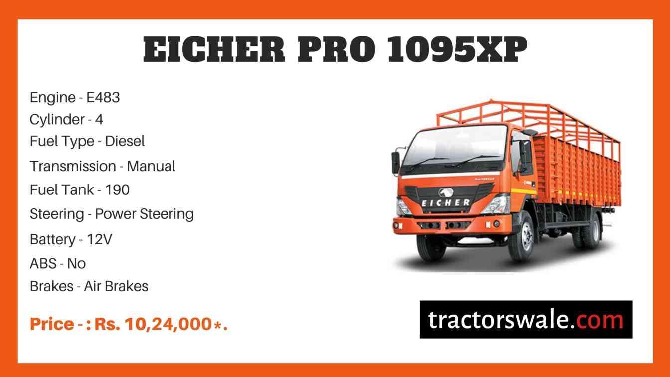 Eicher Pro 1095XP Price