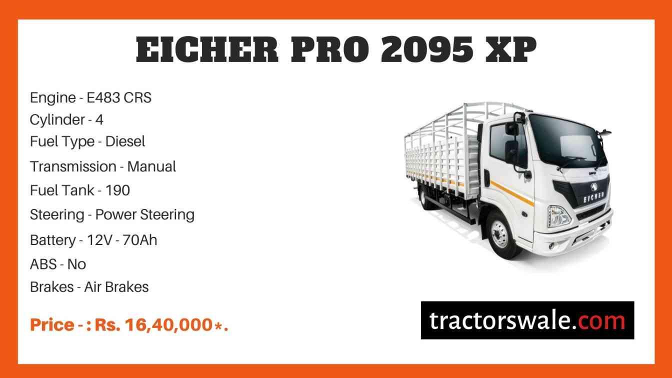 Eicher Pro 2095 XP Truck price