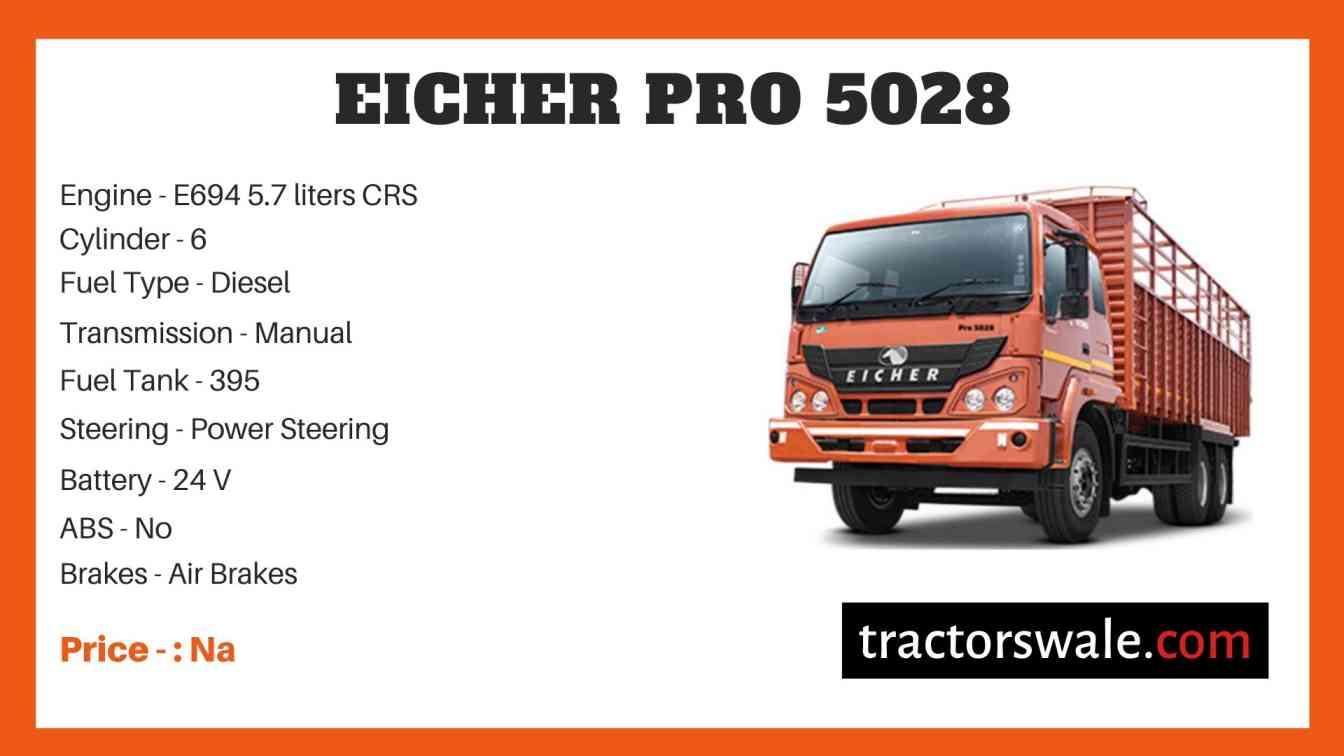 Eicher Pro 5028 Price
