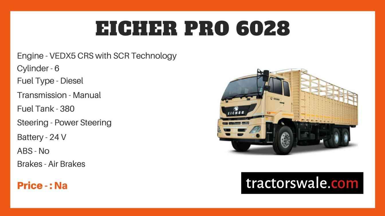 Eicher Pro 6028 Price