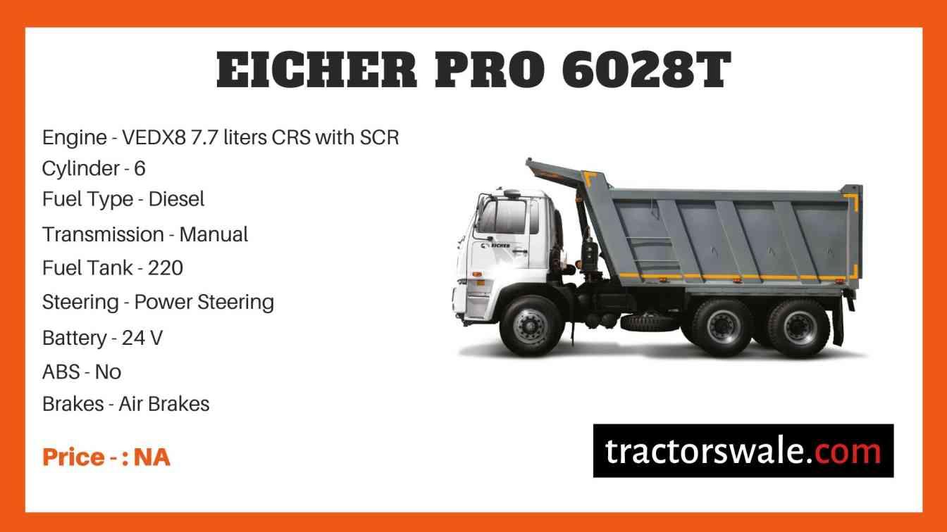 Eicher Pro 6028T Price