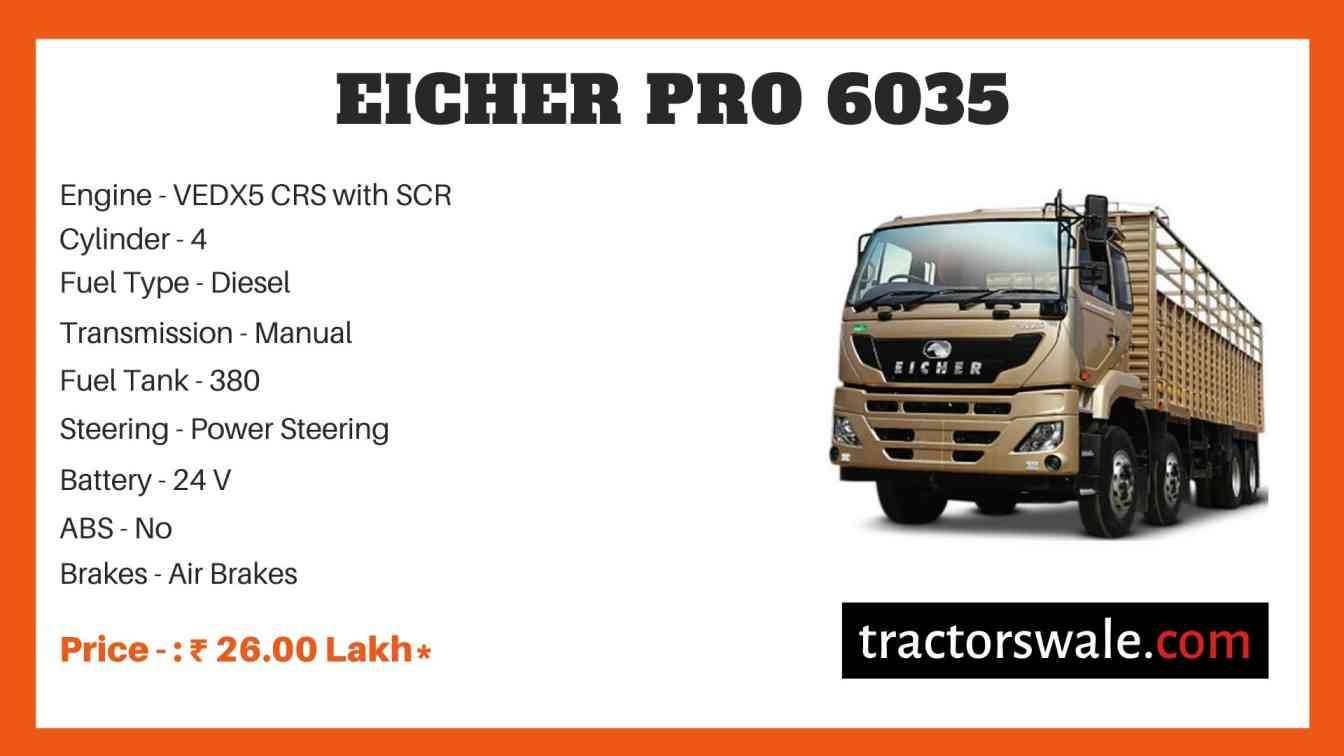 Eicher Pro 6035 Price