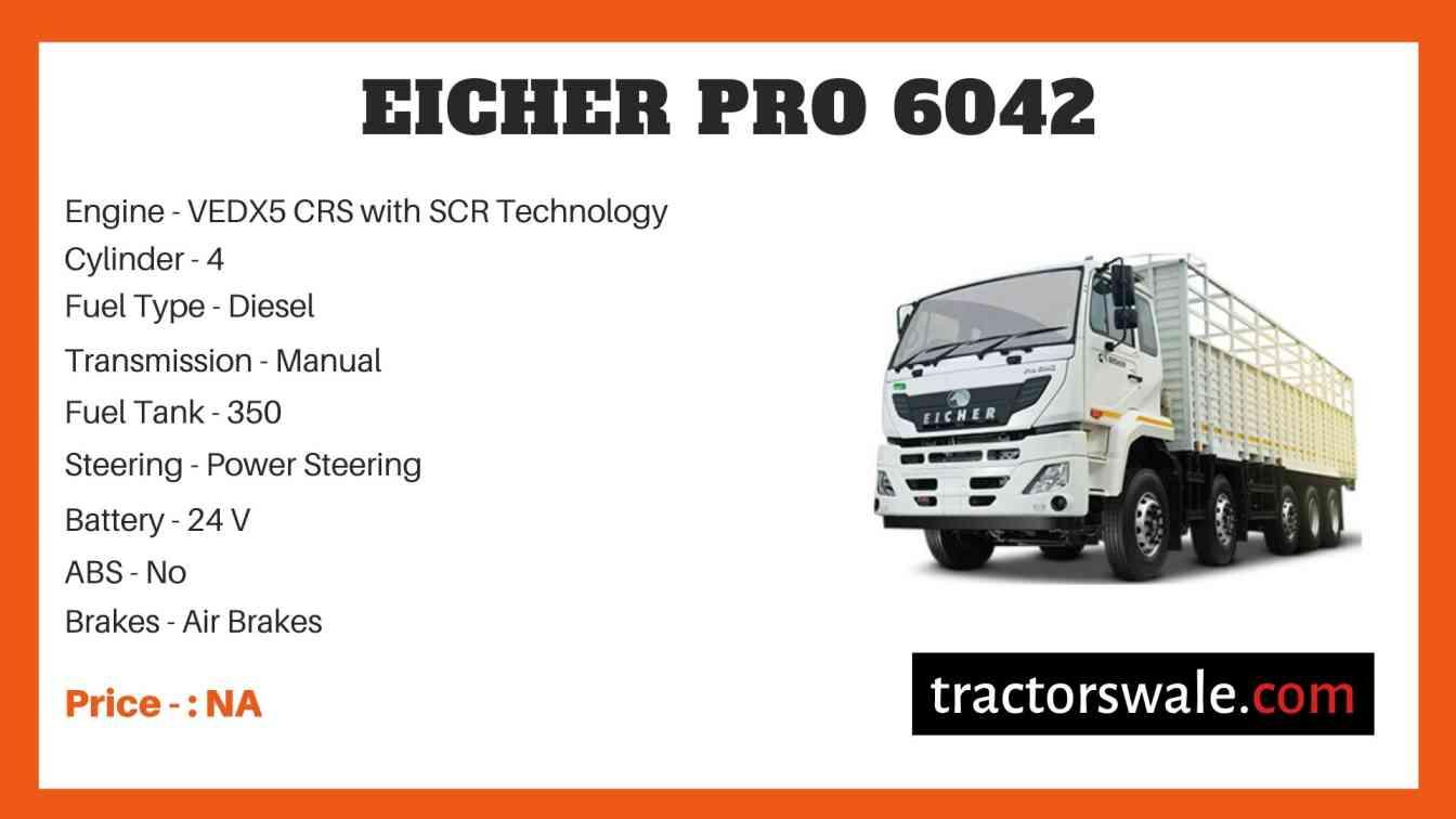 Eicher Pro 6042 Price