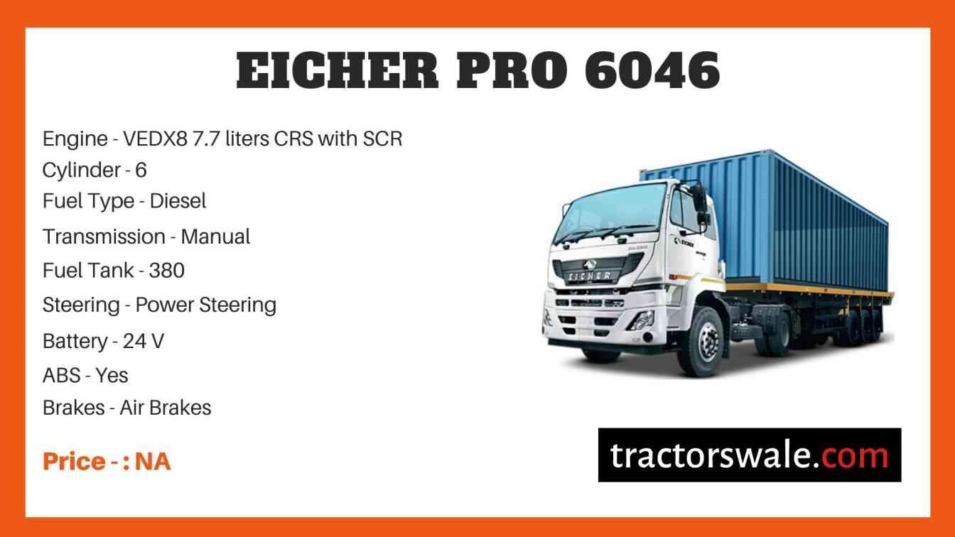 Eicher Pro 6046 Price