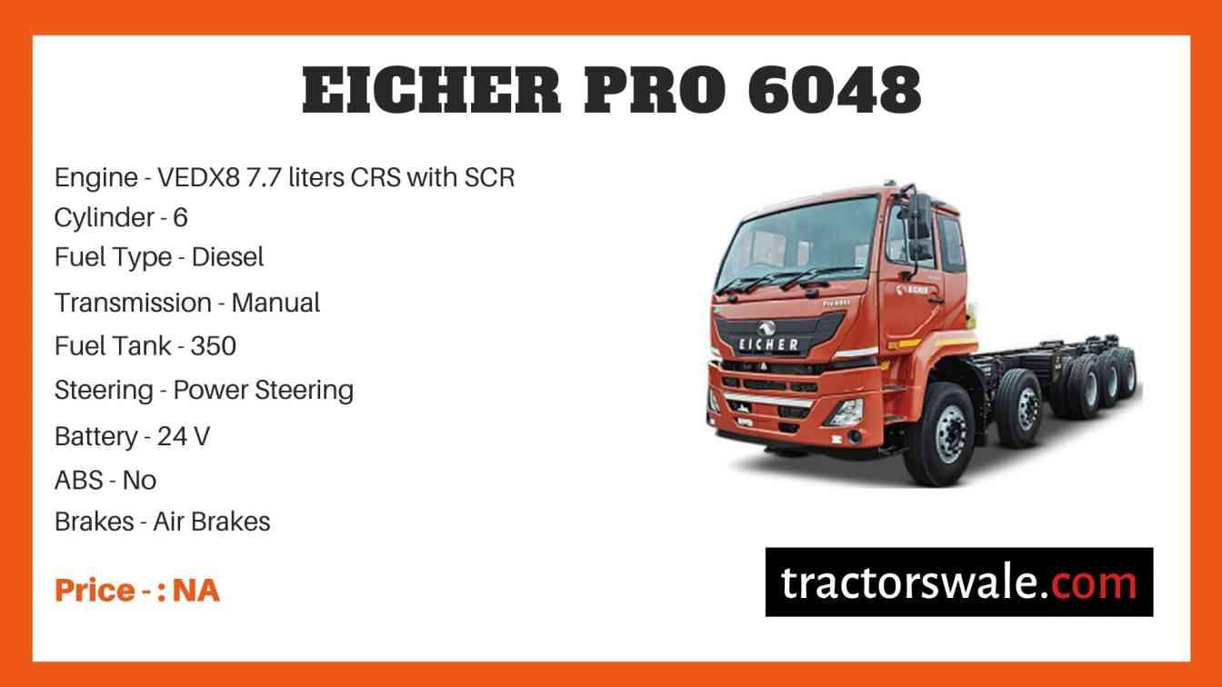 Eicher Pro 6048 Price