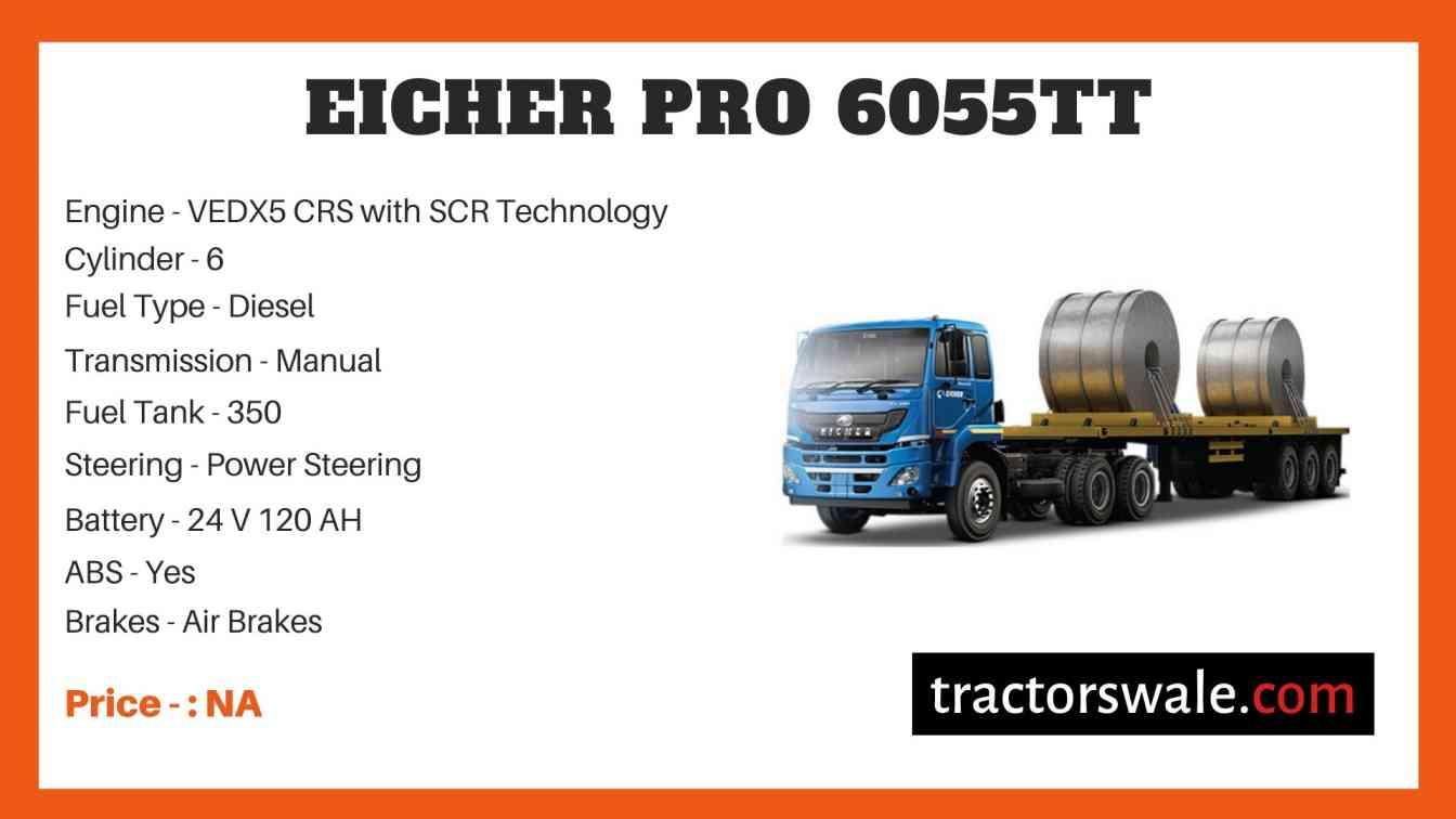 Eicher Pro 6055TT Price