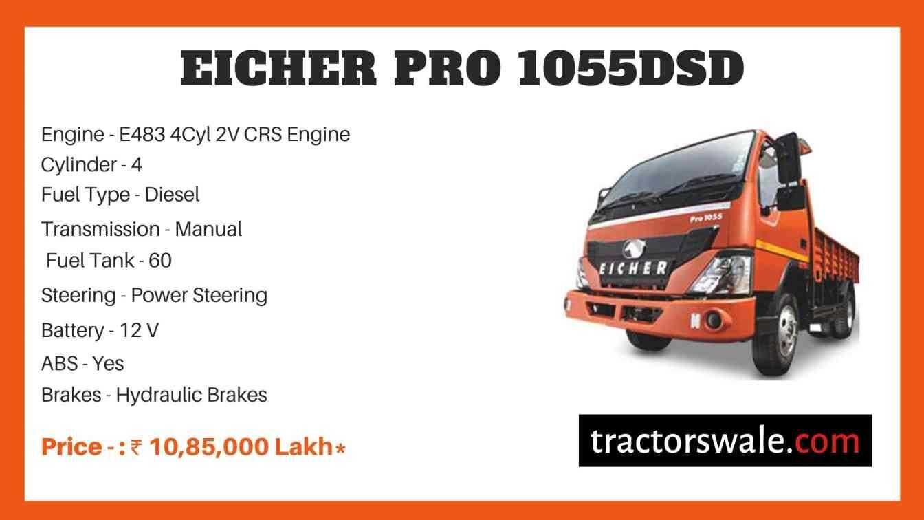 Eicher Pro 1055DSD Price