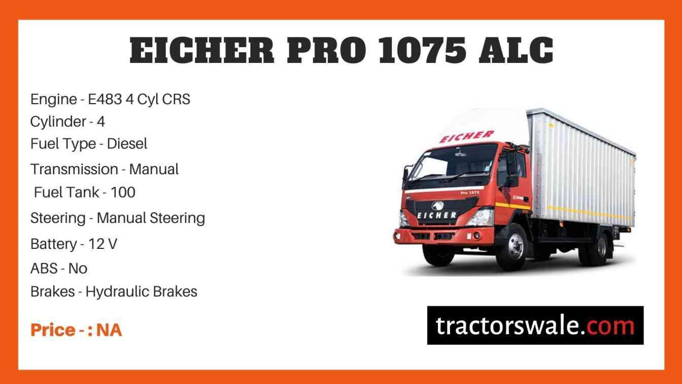 Eicher Pro 1075 Price
