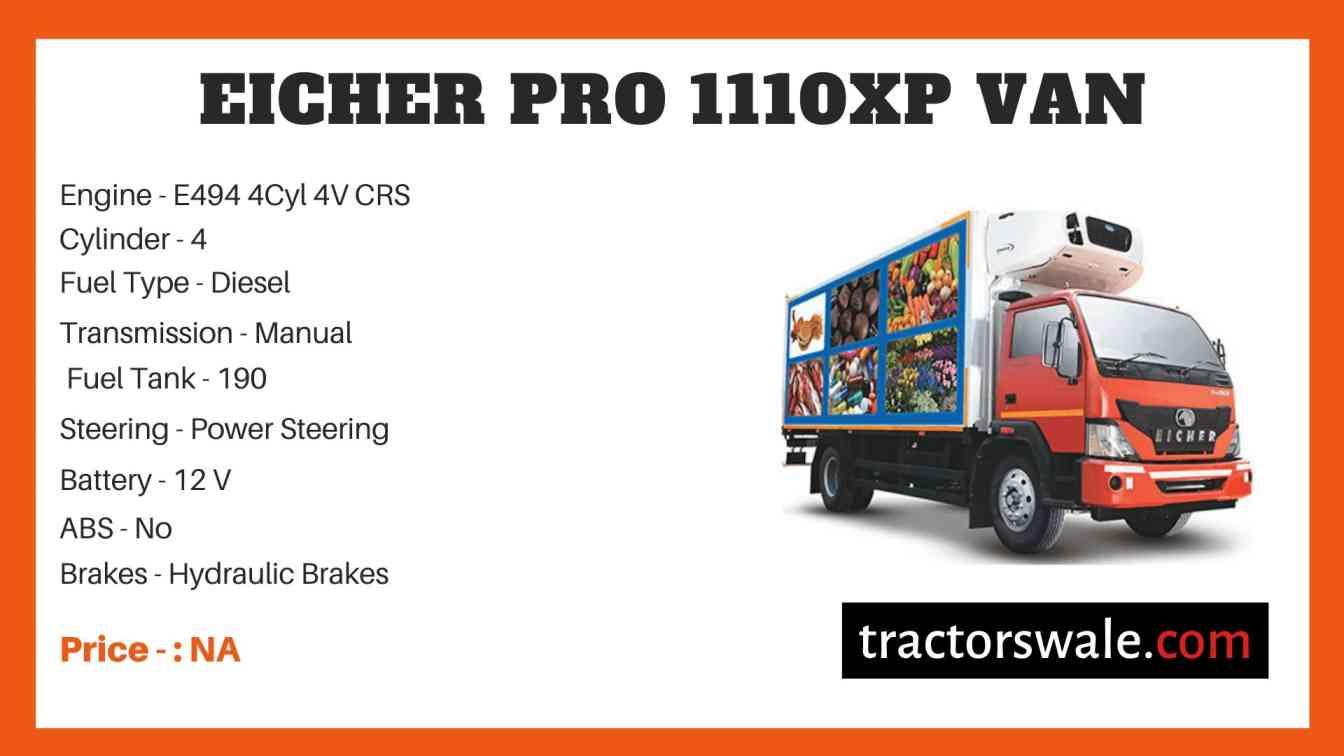Eicher Pro 1110XP Price