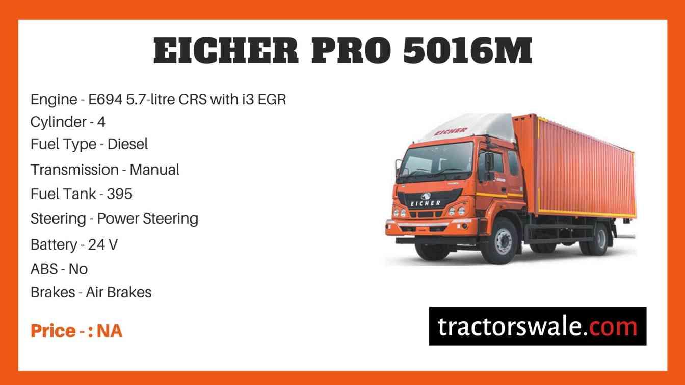 Eicher Pro 5016M Price