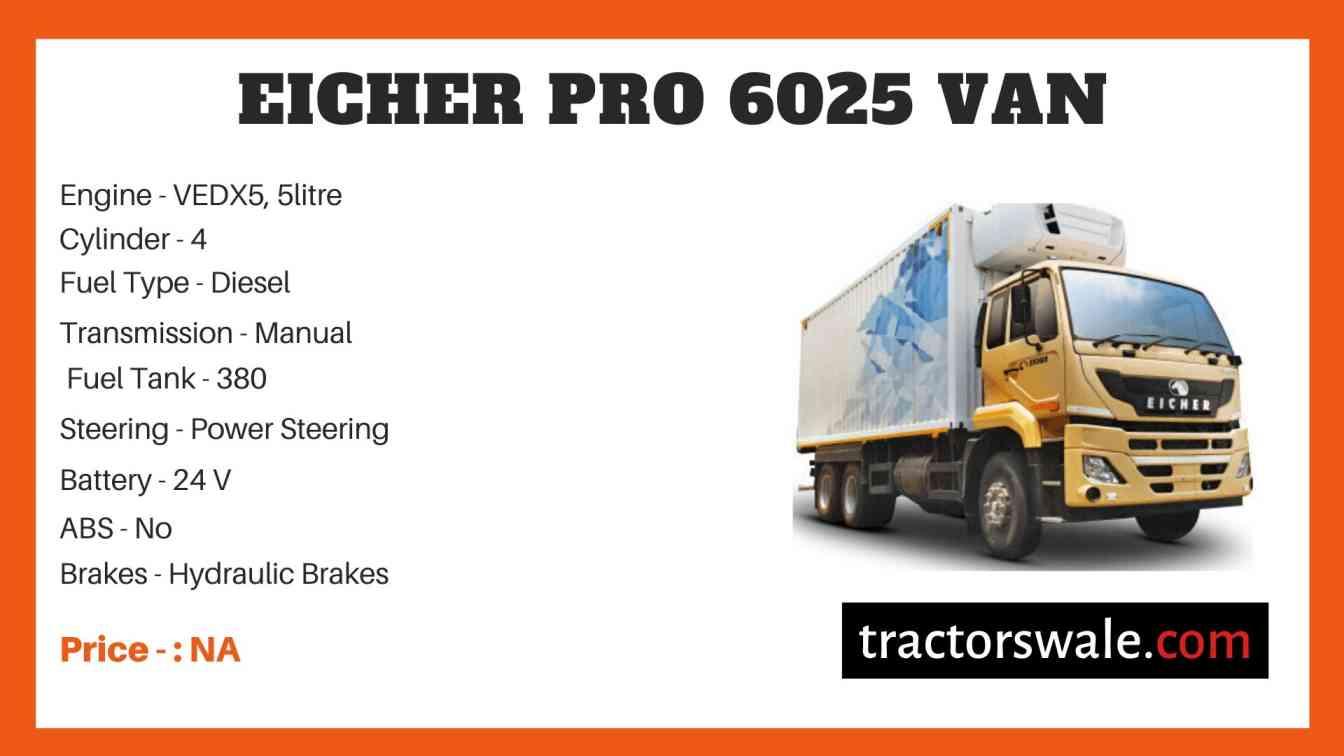 Eicher Pro 6025 Price