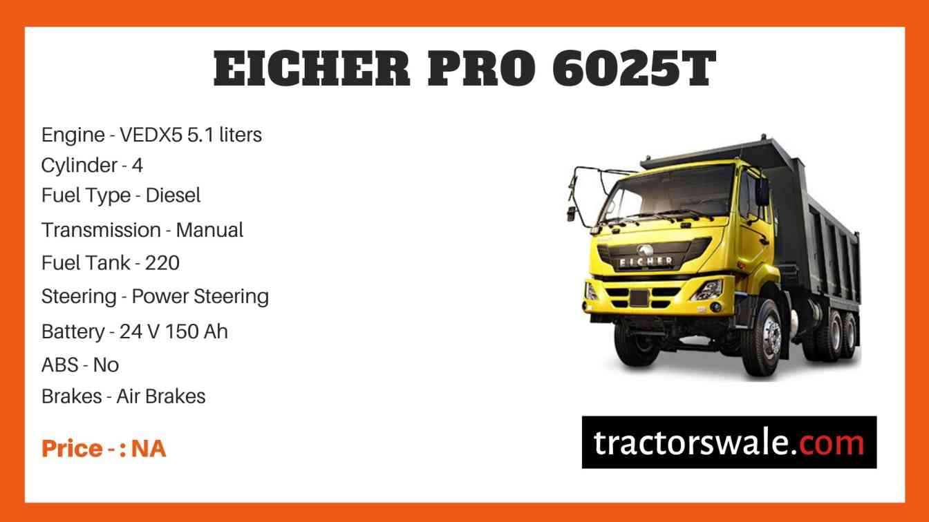 Eicher Pro 6025T Price