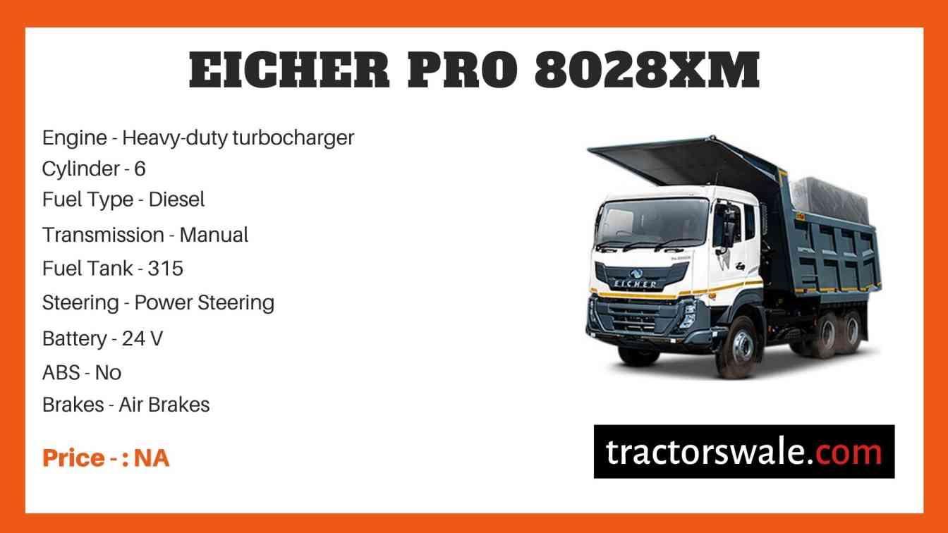 Eicher Pro 8028XM Price